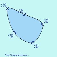 curveVertex(x, y)   ProcessingJS   Computer programming