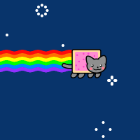 how to make nyan cat on computer